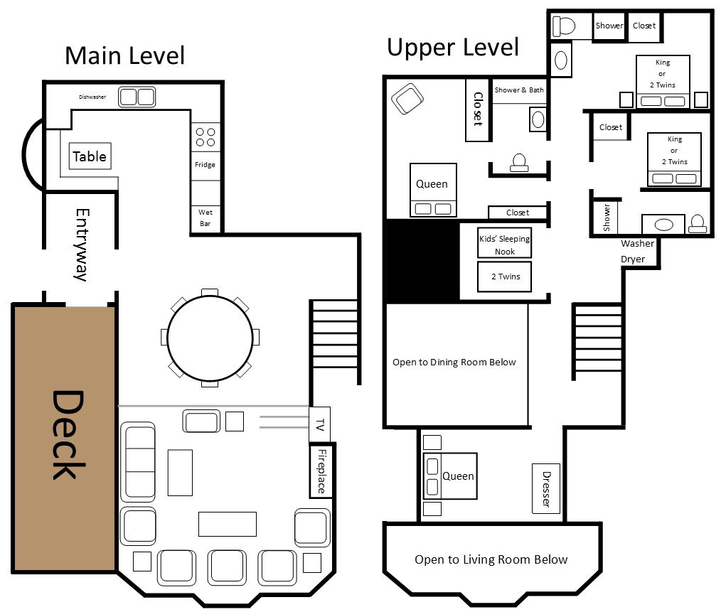 Northstar floor plan