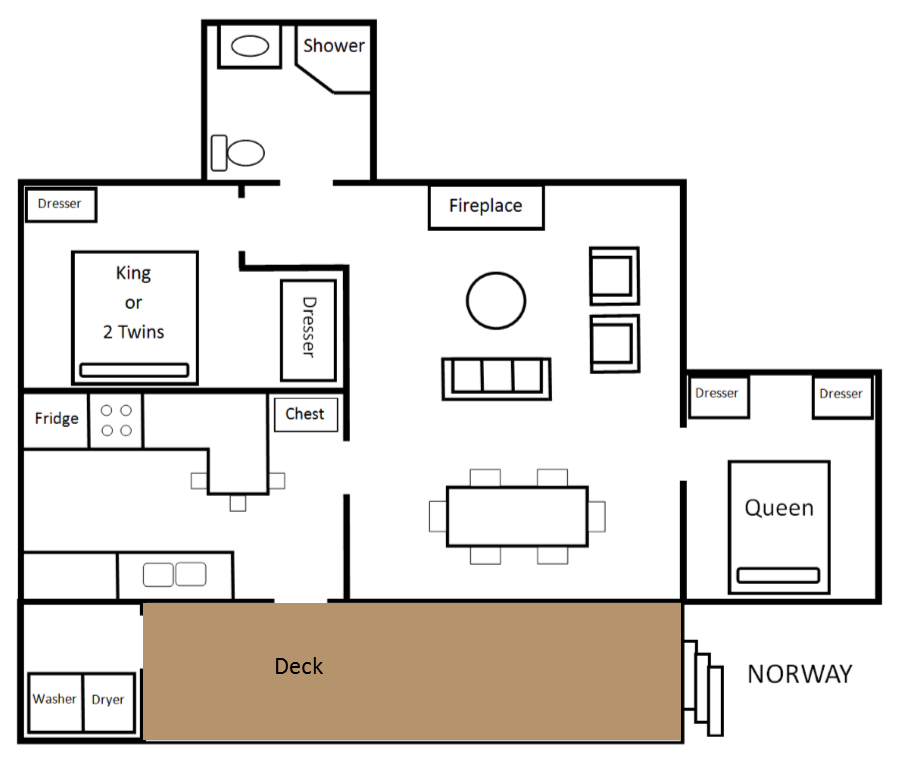 Norway floor plan