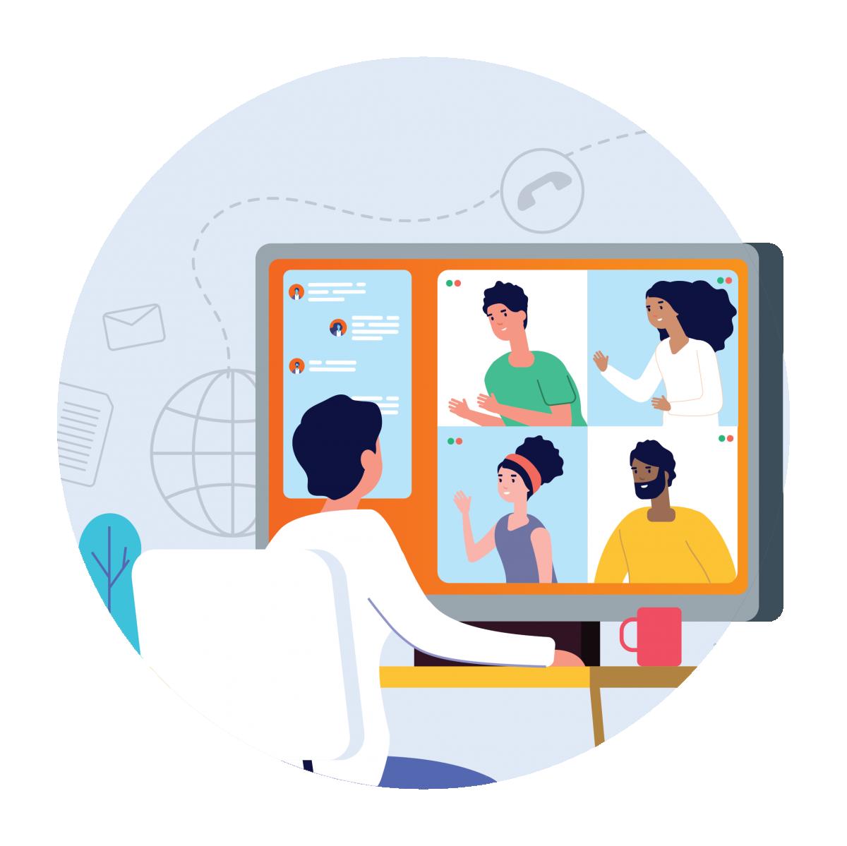 Digital Recruitment Graphic