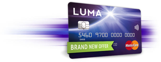 The New Luma Card for People with Adverse Credit History