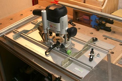 Router table, lift and fence (Festool) Homemade Blog #1 ...