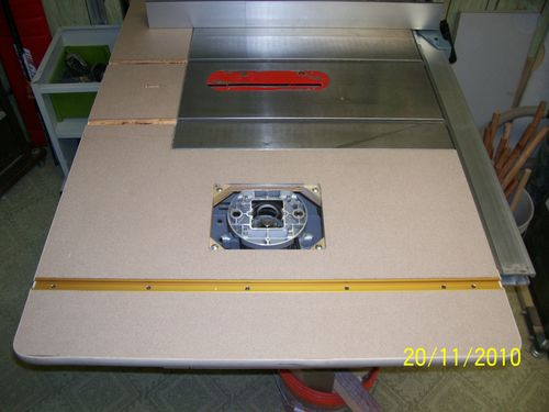 Table Saw Router Table Extension Plans a Router Table Extension