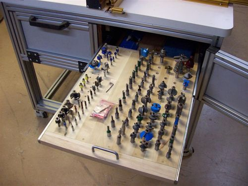 The Basement #11: Incra Router Table - Bit Storage - by ...