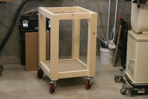 Easy shop table by lockwatcher for Easy entry cart plans