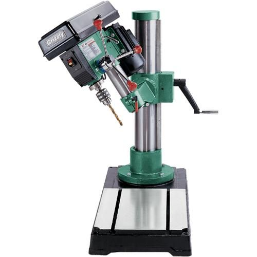 Grizzly+Drill+Press largest radial drill press- help me get some space ...