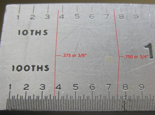 Amazoncom  6 Metric amp English Scale Metal Ruler