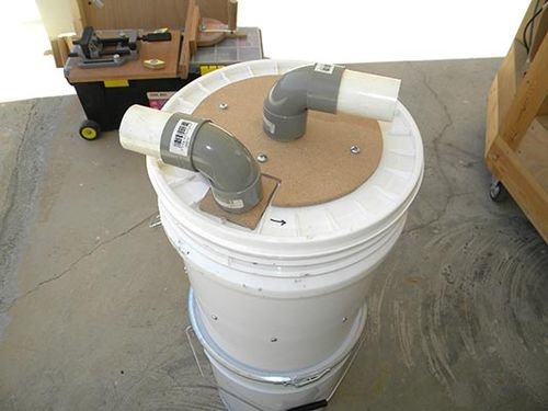 Making Your Own Cyclone Dust Collector