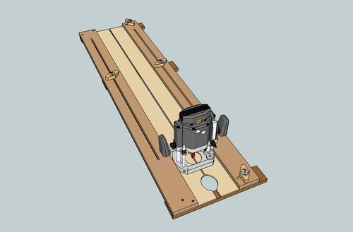 Adjustable Dado Jig