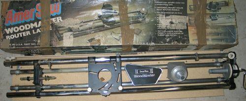 craftsman router lathe