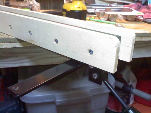 Modified Rousseau Table Saw Fence Sides By Mxrdrver