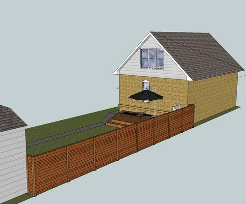 Horizontal Wood Fence Building By Jlondon Lumberjocks