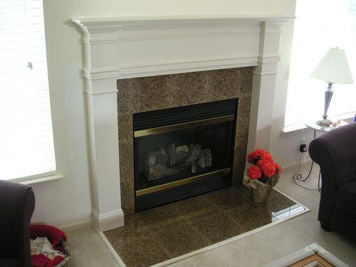 Mdf Or Plywood For Fireplace Mantel And Surround By Kent