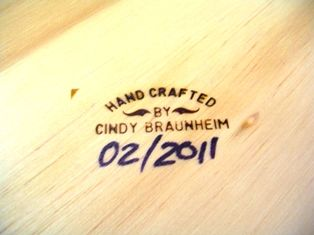 wood burning stamp