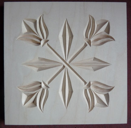 PATTERNS CHIP CARVING