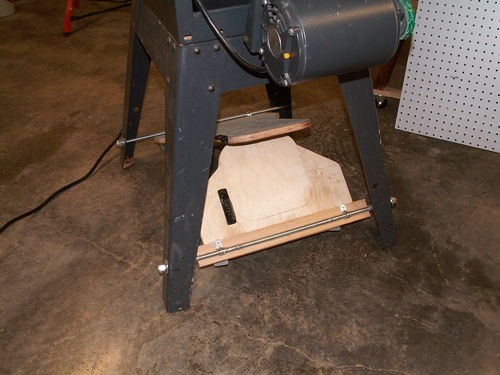 Table Saw Rebuild 4 Adding A Mobile Base To The Ts By Hersh Woodworking