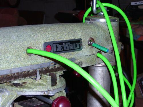 Restoring A 1957 A Dewalt Radial Arm Saw  3  Finishing Up