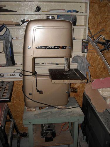1954 Craftsman 12 Quot Bandsaw Restoration By Emart