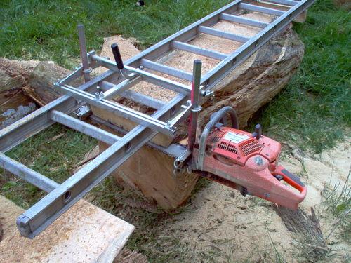 My Chainsaw Mill - by Don W @ LumberJocks.com ...