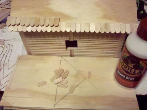 how to make a picnic table out of popsicle sticks
