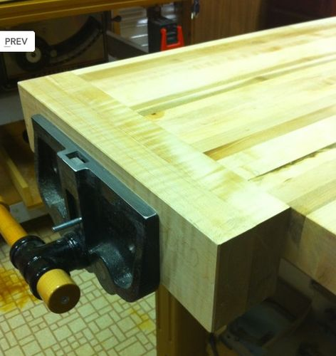 jorgensen woodworking bench