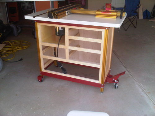 Pdf plans incra router table cabinet plans download wood for How to make a router table stand