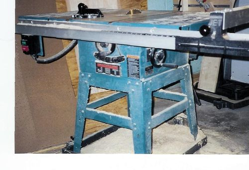 Old Jet Table Saw Question By Newbiewoodworker43