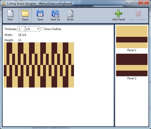 Cutting Board Designs Software