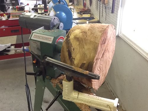 Large wood lathes