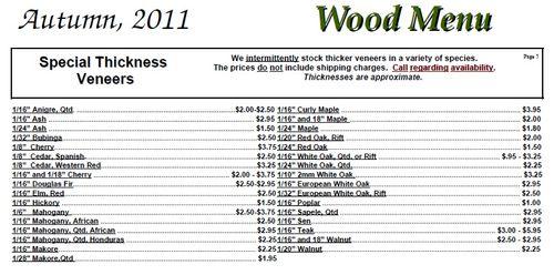 Woodworking wood veneer thickness PDF Free Download