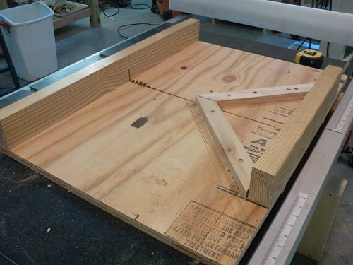 Miter Table Saw Sled 07scape