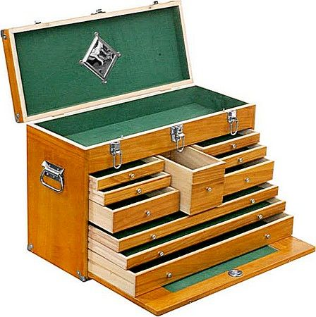 wooden tackle box plans