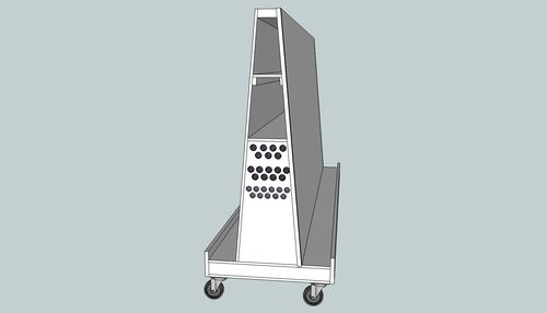 Plywood Cart Design