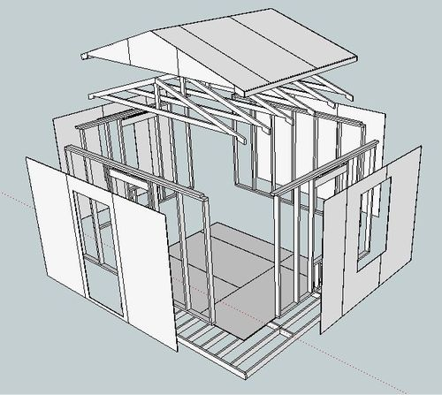 Wood specialist shed plans google sketchup for Free shed design software with materials list