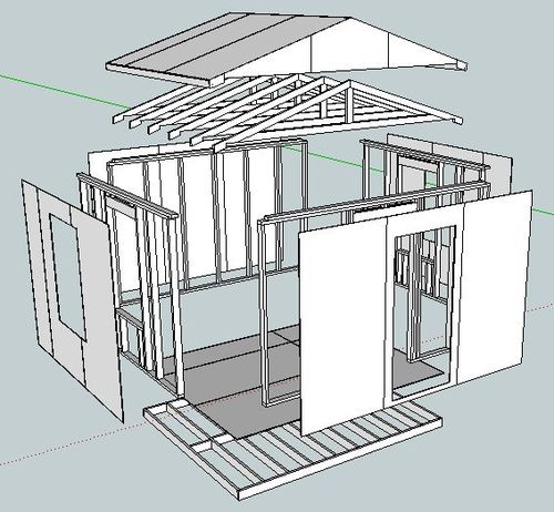 Building my first workshop shed 1 plans and material for Best builders workshop deck