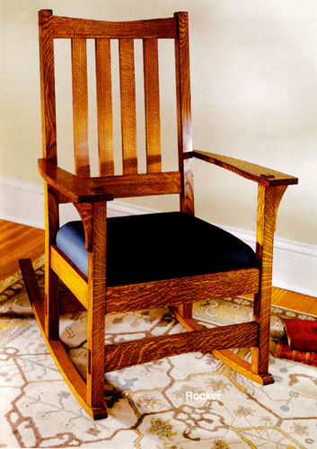 rocking chair plans woodworking