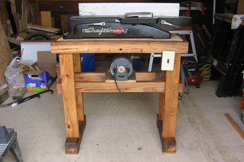 Jointer Stand Plans Pdf Woodworking