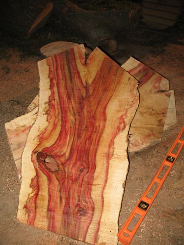 Wood For Sale: Flame Box Elder, Black Walnut, Birdseye Maple ect ...