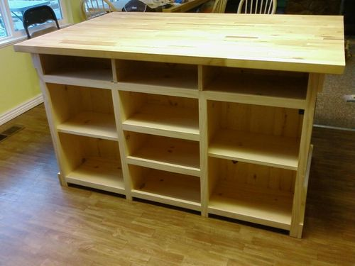 kitchen island woodworking plans pdf woodworking