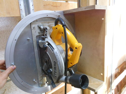 how to build a panel saw