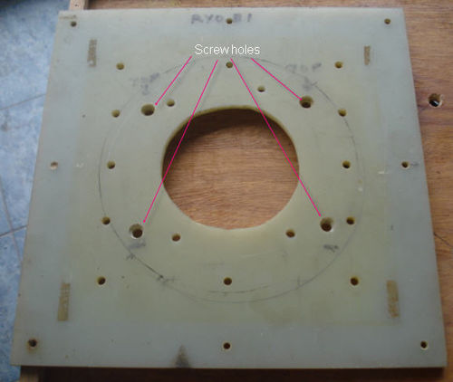 Router Table Insert Plate Router Table Base Plate