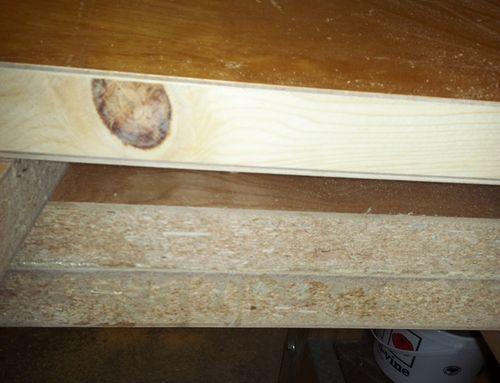 Solid Door Workbench 1 The Top With Solid Core Doors