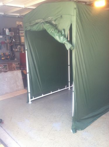 Portable Spray Booth By Ken90712 Lumberjocks Com
