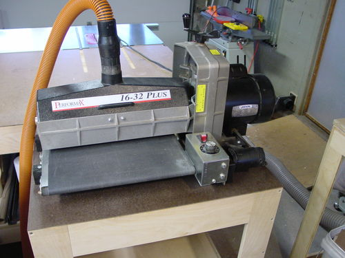 Tool Gloat Performax 16 32 Drum Sander By Brad Nailor
