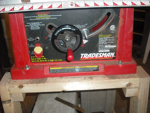 Table Saw Blade Won 39 T Say At Set Height By Indianajohn Woodworking Community