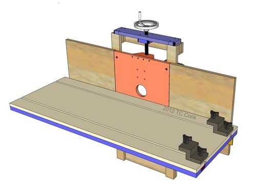 Pdf plans horizontal router table design download diy for Table th horizontal