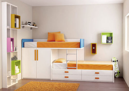 Kids bunk bed question on design by sbilly lumberjocks - Loft beds for kids canada ...