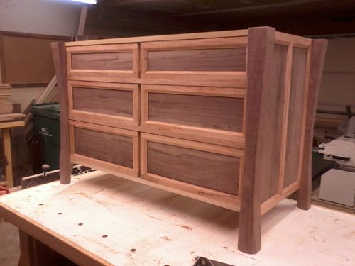 Wood Veneer Tambour Sheet Oak Building A Dresser Router