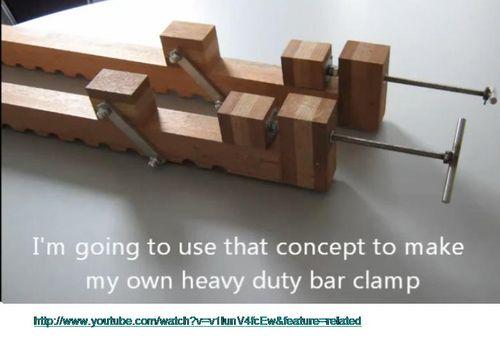 Diy Wood Bar Clamps Plans DIY Free Download Basement Bar Plans