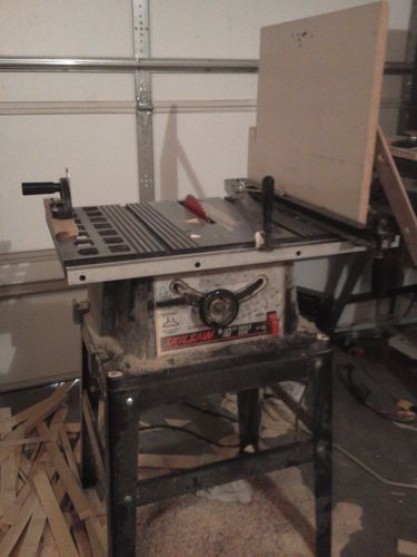 Tools Shop Projects Etc General Blog 1 Zero Clearance On A Cheap Table Saw By