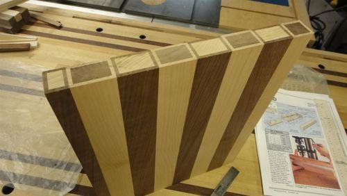 building a cutting board